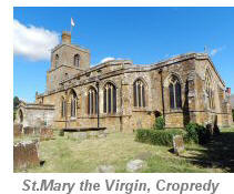 St Mary the virgin, Cropredy