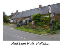 Red Lion Pub Hellidon