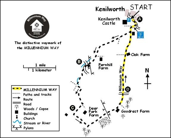 Kenilworth Map