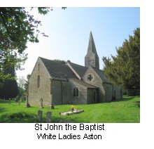 St John the Baptist White Ladies Aston