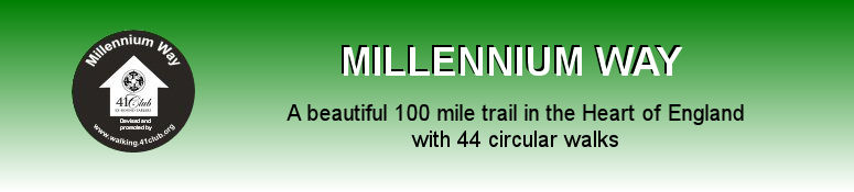 The Millennium Way 100 Mile Trail in the heart of England